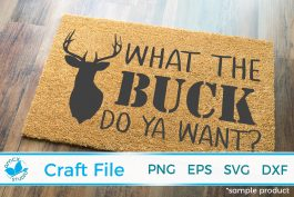 What the buck do you want