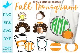 Fall Monogram Bundle