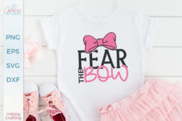 Fear the Bow SVG