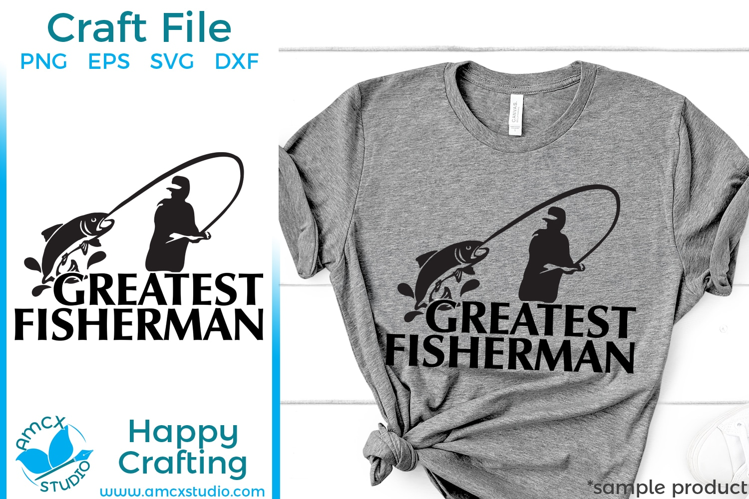 Download Greatest Fishing Man Svg By Amcx Studio