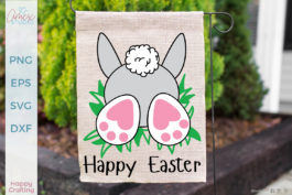 Easter Bunny Bum SVG