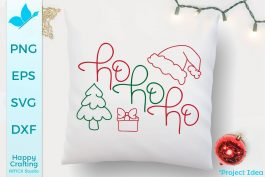 Ho Ho Ho Hand Drawn Files