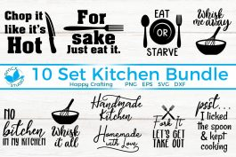 10 Design Kitchen Bundle