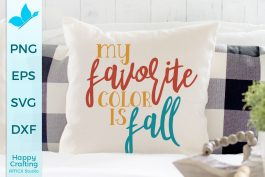 Fall Is My Favorite Color SVG