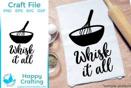 Whisk it all!
