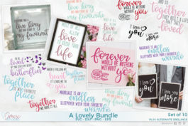 A Lovely Bundle SVG