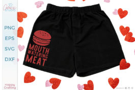 Mouth Watering Meat SVG
