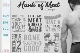 Hunk Of Meat – Underwear SVG