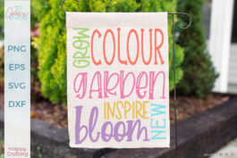 Garden Flower Quote Bundle