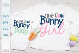 One Cool Bunny SVG