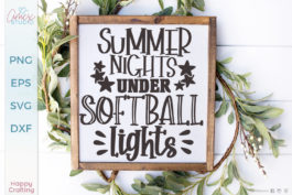 Baseball Lights SVG