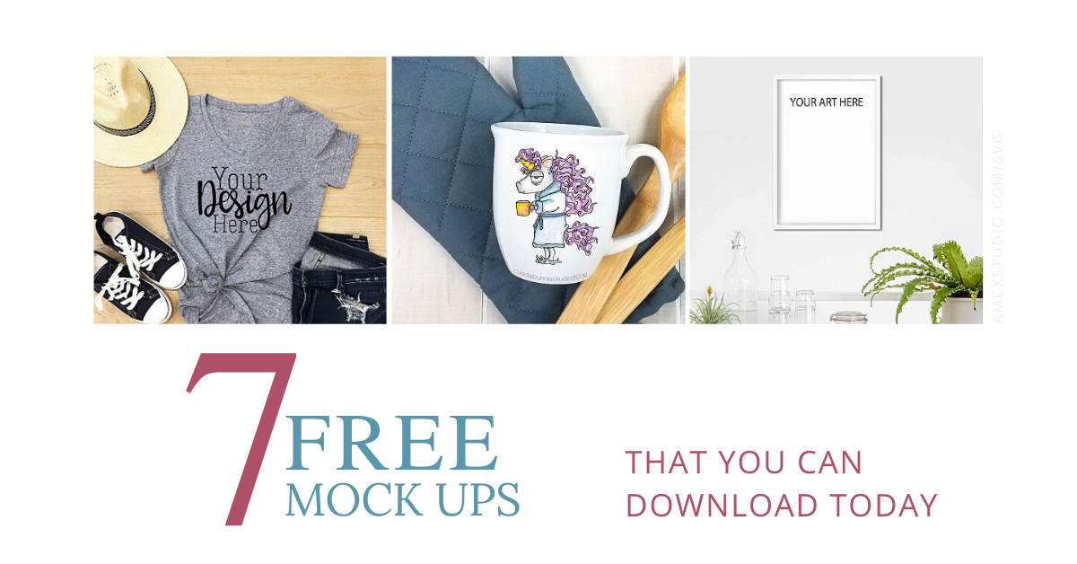 FREE Mock-Ups to download NOW!