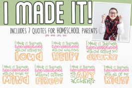 Homeschool SVG Bundle