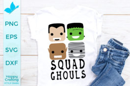 Squad Ghouls Sublimation