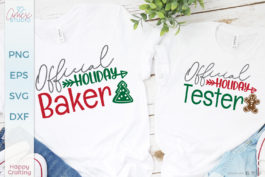 Official Holiday Baker SVG