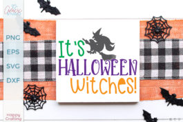 It's Halloween Witches SVG