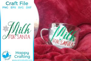 Cookies for Santa, Plate and Cup bundle