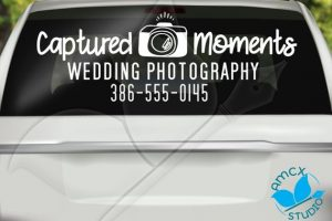 Photography Business Car Vinyl