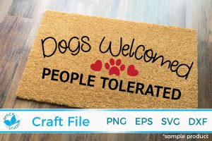 Dogs welcome, people tolerated 2